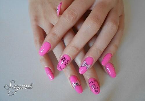 Nail Art - Michishige Sayumi Sotsugyou spécial nail art