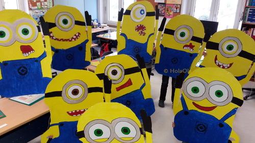 Minions ces déguisements de Carnaval