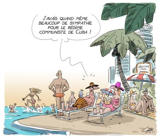 Dégel Cuba USA (André-Philippe Côté 19.12.2014)