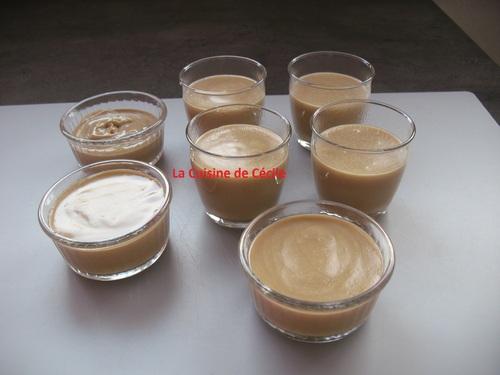 Crèmes dessert au café