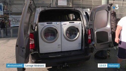 Une laverie mobile pour les démunis