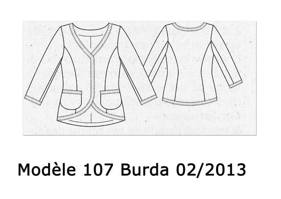 Modèle 107 Burda 02-2013