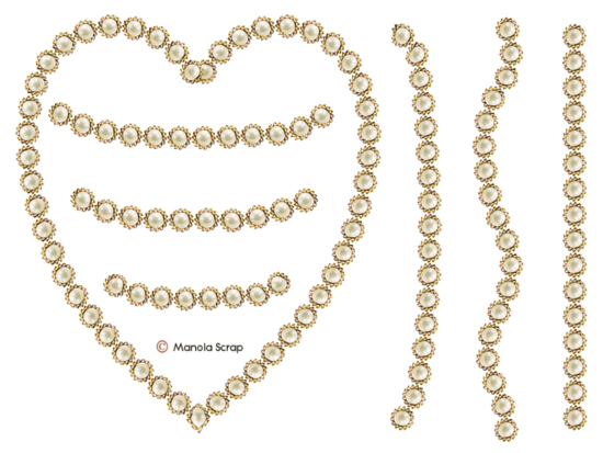 Cadres de perle