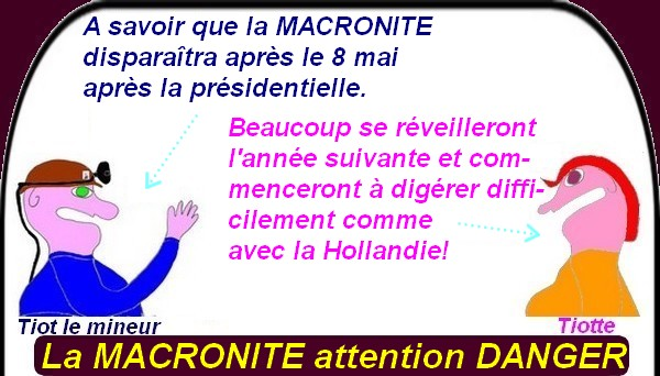 La MACRONITE un mal exclusivement français!