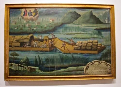 ex-voto mexicain anonyme bateau 1859