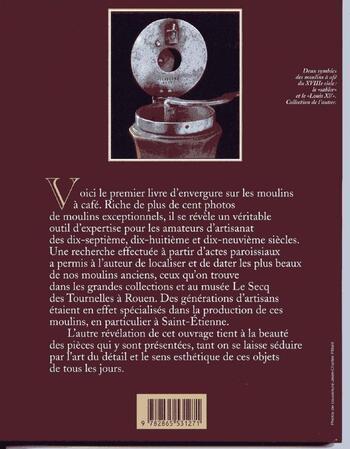 AV : Anciens Moulins à café de Jean-François Bianco