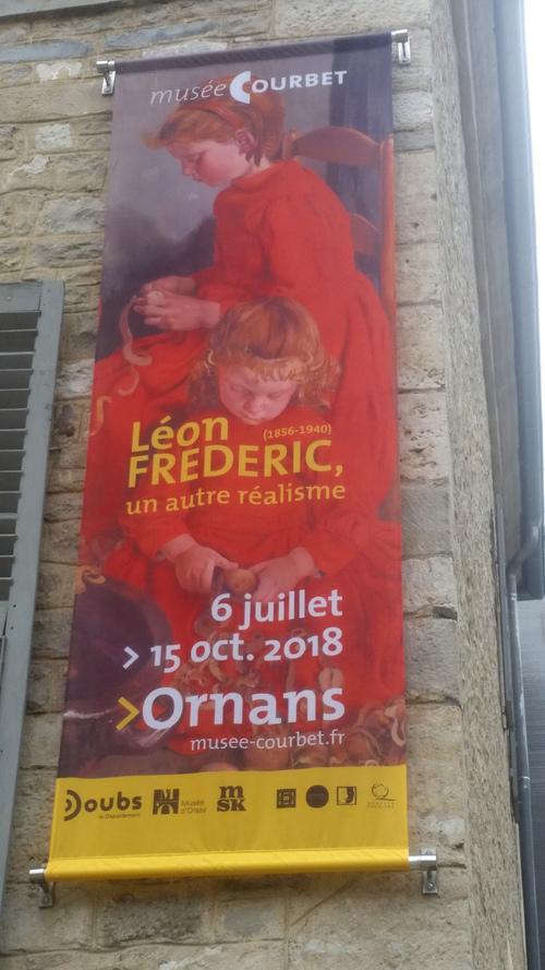 Léon Frédéric au Musée Courbet