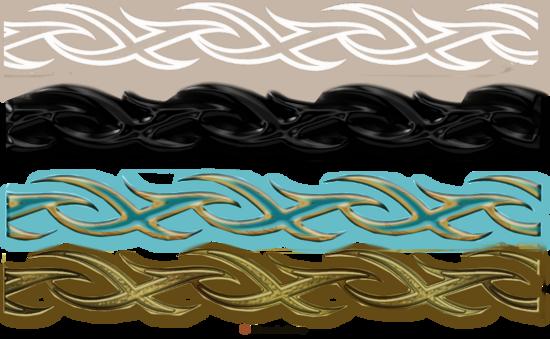 barres de séparation gothique