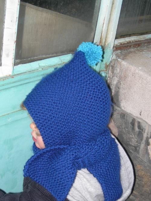 Bonnet-écharpe pour enfants