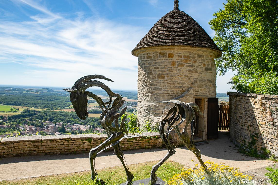Château-Chalon  - Manque d'inspiration.
