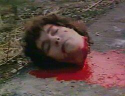 Exécutée par l'EI, accusée de sorcellerie, en Syrie.