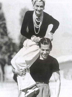Coco Chanel & Serge Lifar (1937) #CocoChanel Visit espritdegabrielle.com | L'héritage de Coco Chanel #espritdegabrielle: