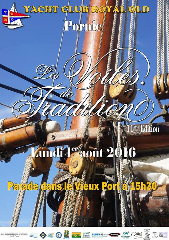 Pornic, Voiles de Tradition, 2016