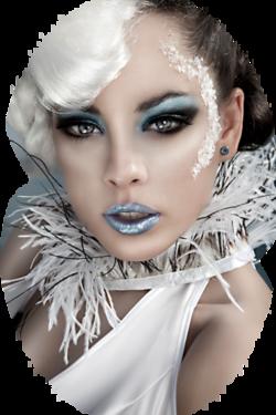 Téli női png