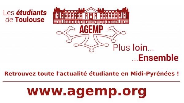 www.agemp.org | Retrouvez toute l'actualité étudiante en Midi-Pyrénées !