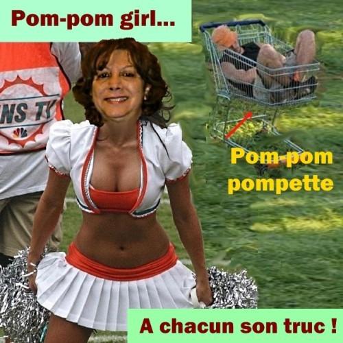 Yvette pom-pom girl