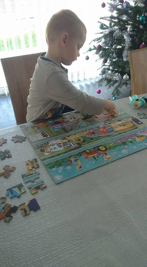 Timéo et le puzzle