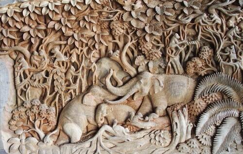 Chang Maï, artisanat