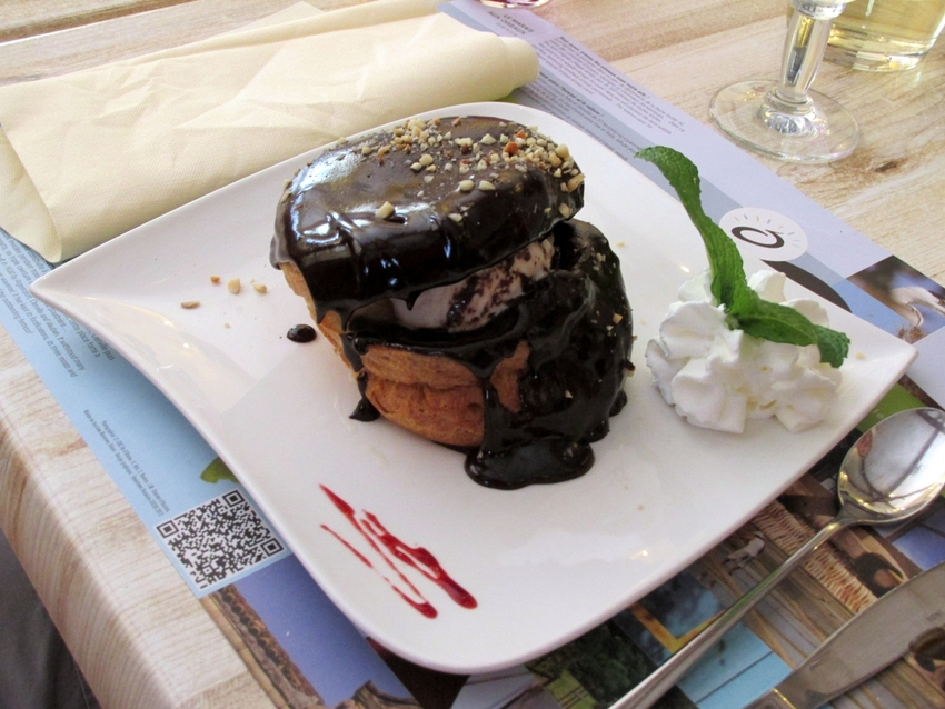 Restaurant le St Georges le 13 avril 2014      (St Georges d'Oléron)