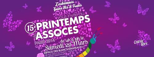 SAMEDI 29 MARS 2014 PRINTEMPS DES ASSOCIATIONS