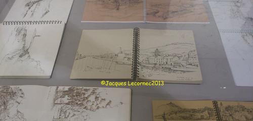 """Jacques Lecornec: """"Marcher, flâner, dessiner sur la côte catalane"""""""