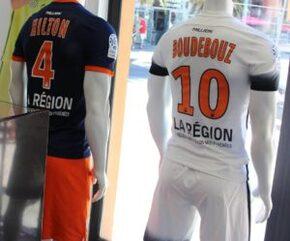 Nouveau Maillot de foot Montpellier Football Club Exterieur 2016 2017 pas cher