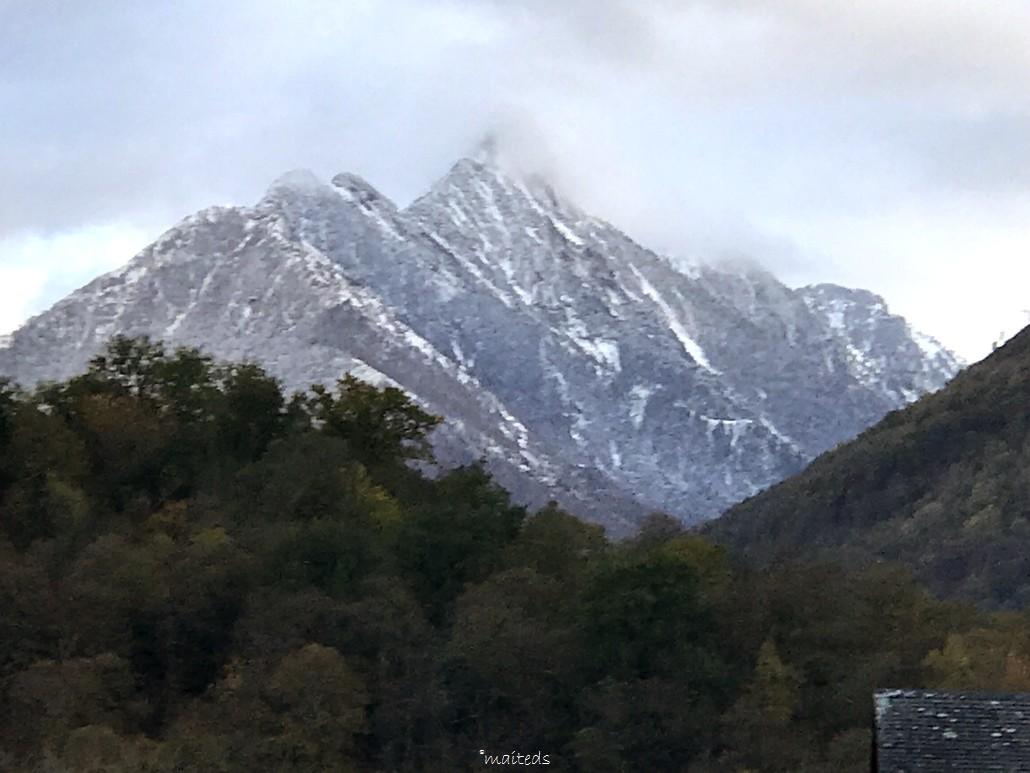 Il a neigé dans les Pyrénées