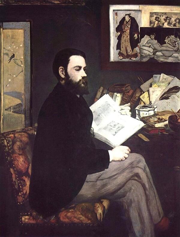 Manet 9 /    1866 -le fifre       1866-l'acteur tragique