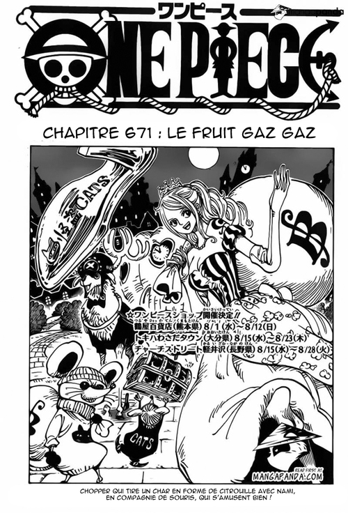 One Piece scan chapitre 671 FR