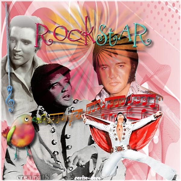 rock star avec cerise deco