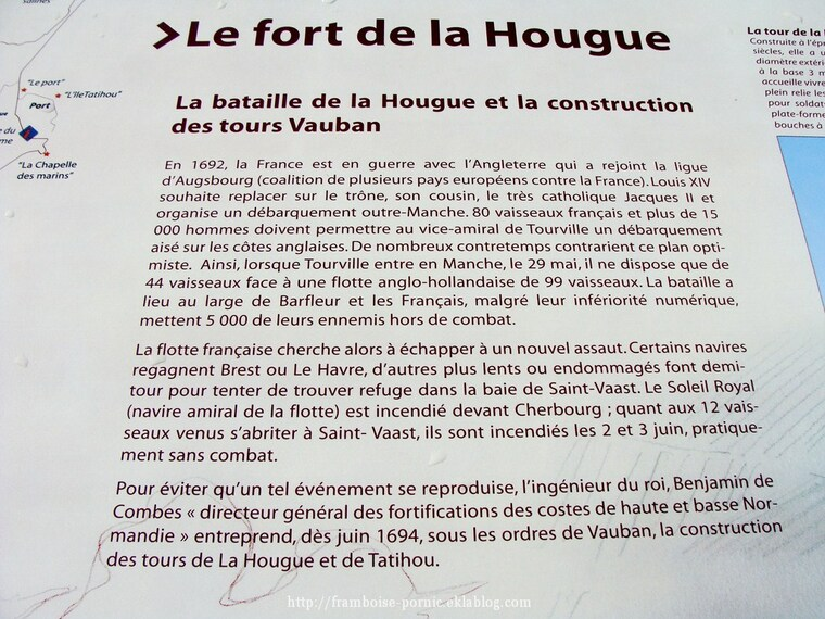 Saint Vaast la Hougue dans le Cotentin