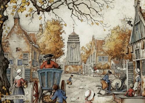 Coussin d'automne