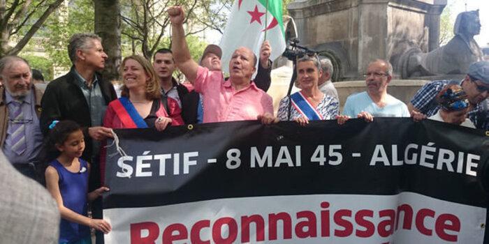 L'Autre 8 mai 1945 : Appel à Macron  pour passer des paroles aux actes   dans la reconnaissance des crimes d'Etat
