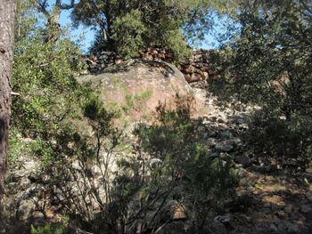 L'enceinte de l'oppidum
