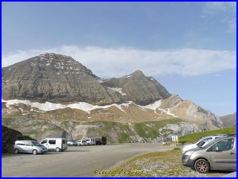 Hautes Pyrénées, la brèche de Roland