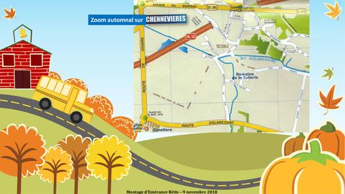 Zoom automnal sur Chennevières