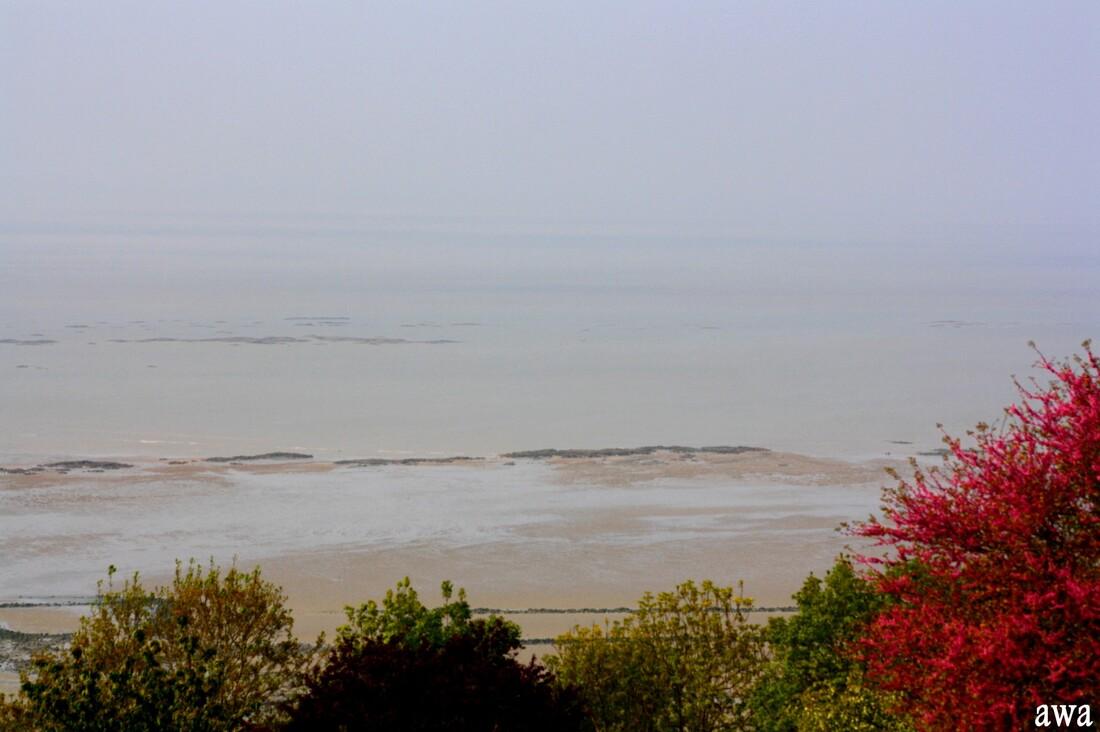 Normandie mai 2017: Ducey,  Avranches et vues sur la baie