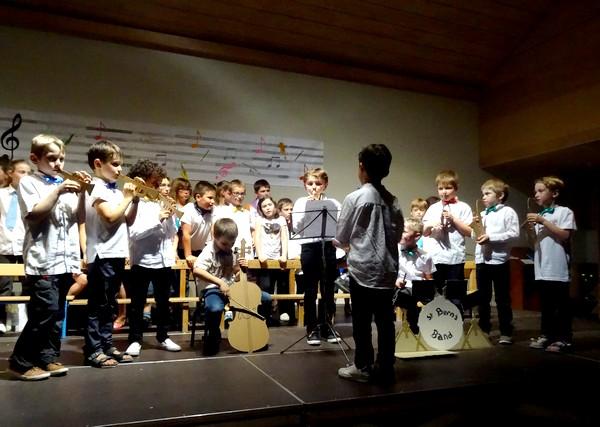JAZZ, un beau spectacle musical donné par les élèves de l'école Saint Bernard