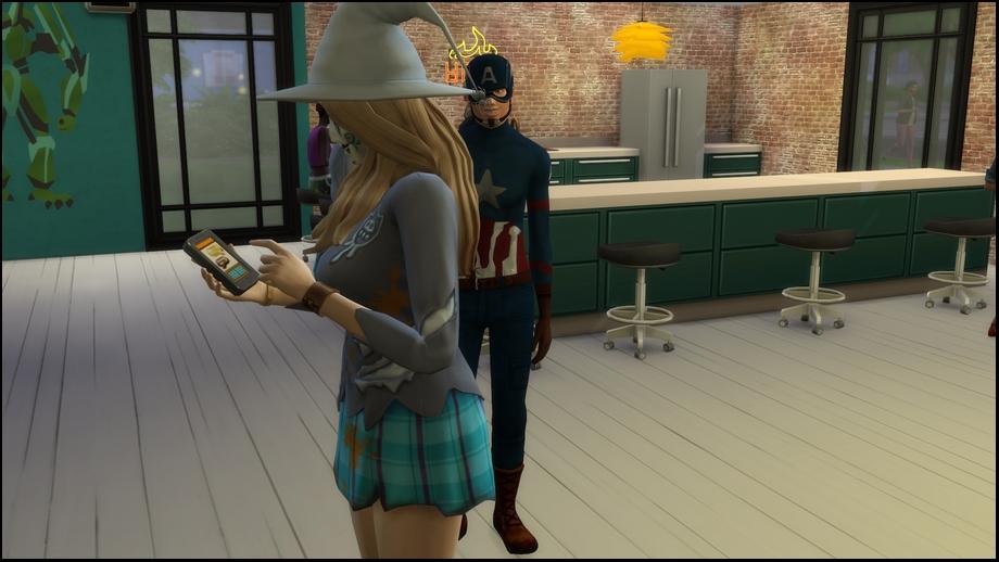 Chapitre 5 : Quand Captain América et  Sorcière écarlate se marient