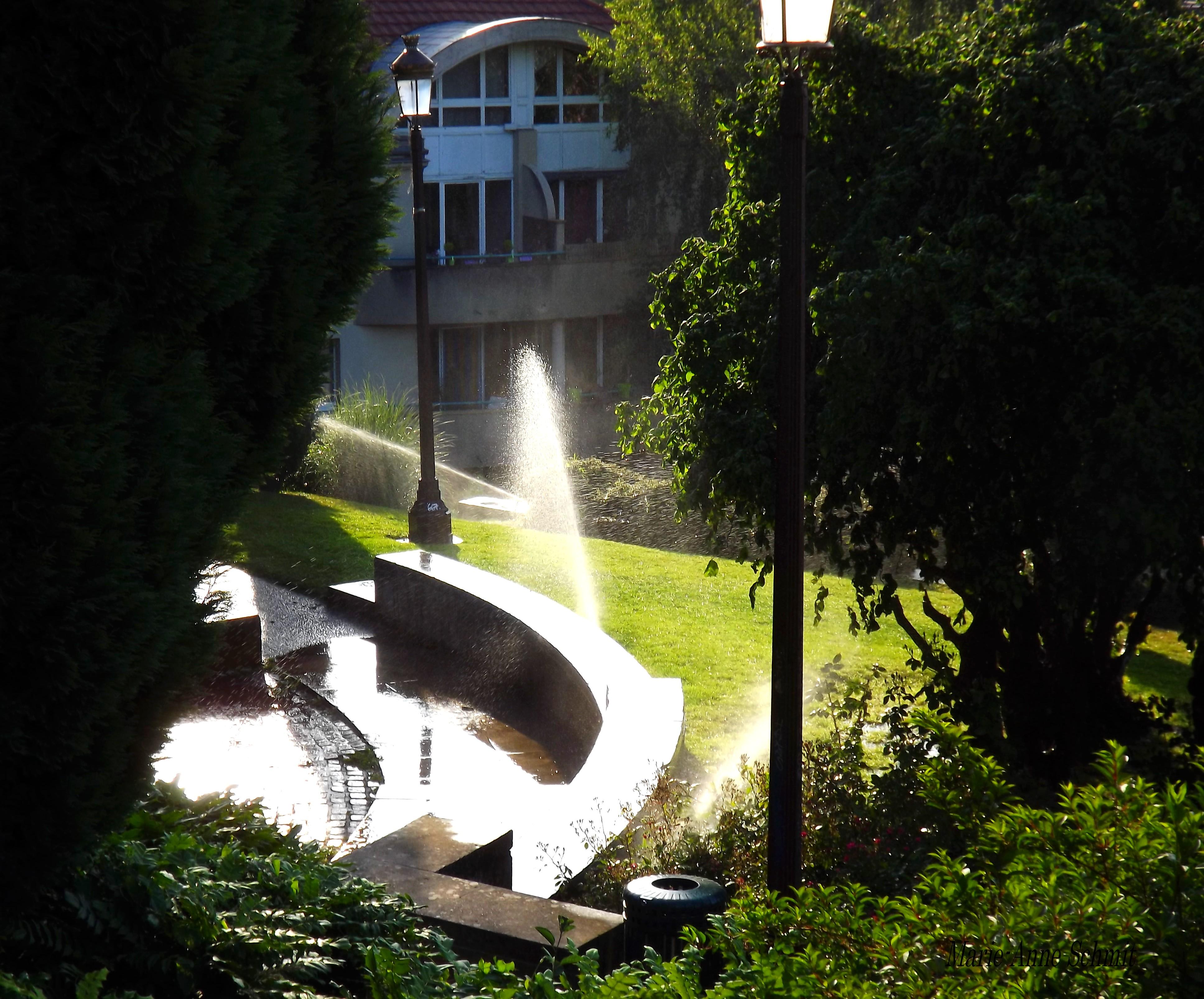 Les bienfaits de la douche au jardin des Tanneurs Metz Metz je