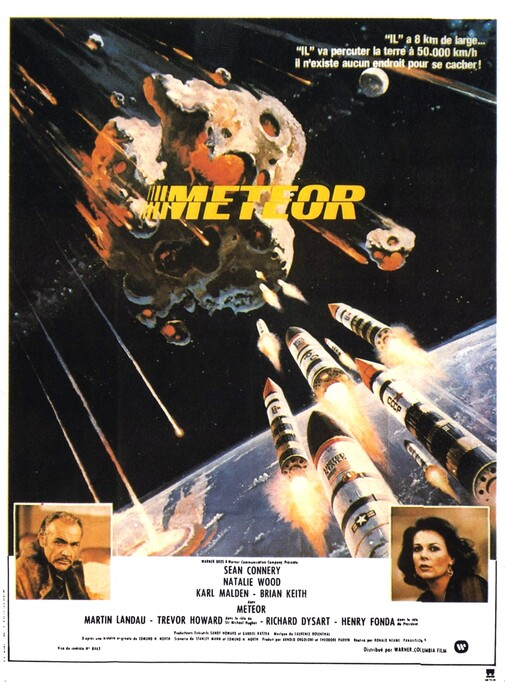 METEOR BOX OFFICE FRANCE 1980