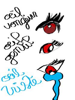 Les émotions à travers les yeux