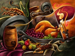 Mystery of thanksgiving - Find the alphabets numbers and stars