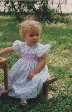 Ma première robe à smocks