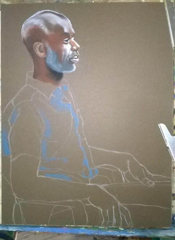 Vendredi - L'homme en chemise bleue (suite et fin)