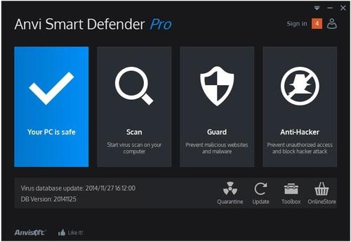 Anvi Smart Defender Pro - Licence 1 an gratuit