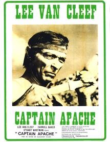 CAPTAIN APACHE BOX OFFICE FRANCE 1971