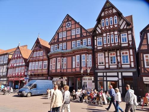 Promenade dans Celle en Allemagne (photos)
