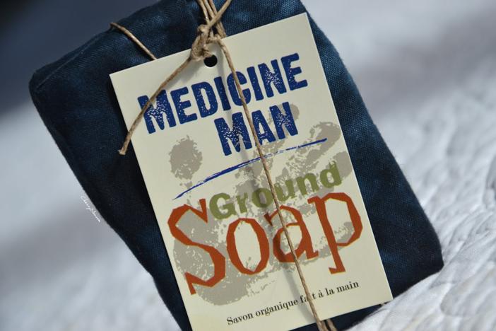 Medicine Man, mon nettoyant visage solide et bio