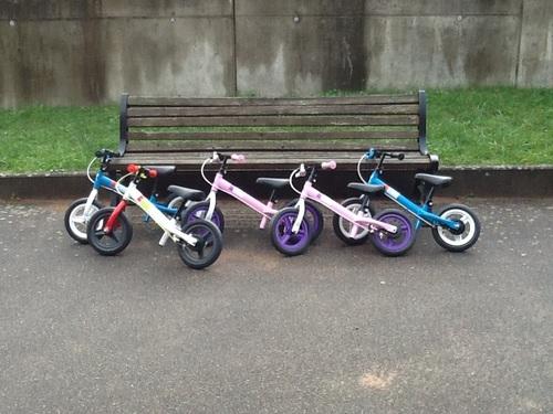 Les nouveaux vélos financés par l'APEEM! Merci!